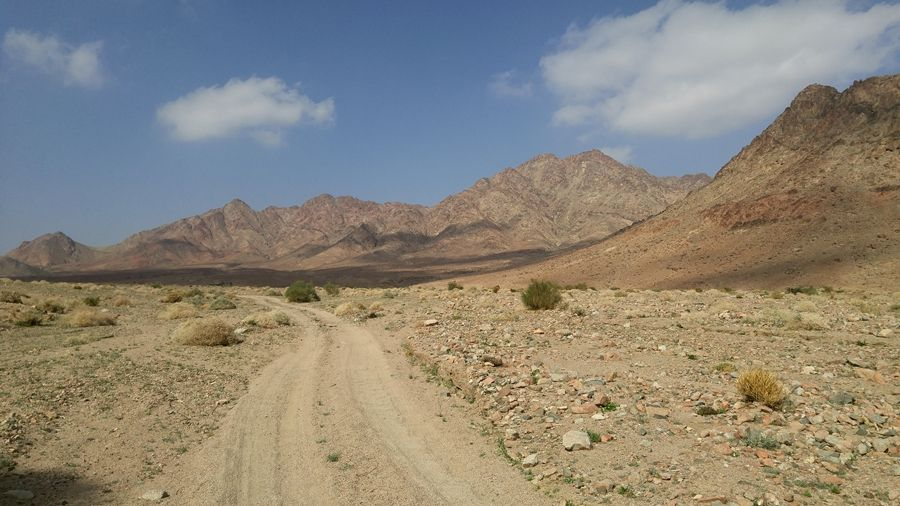 Jordania, szlaki, pustynia