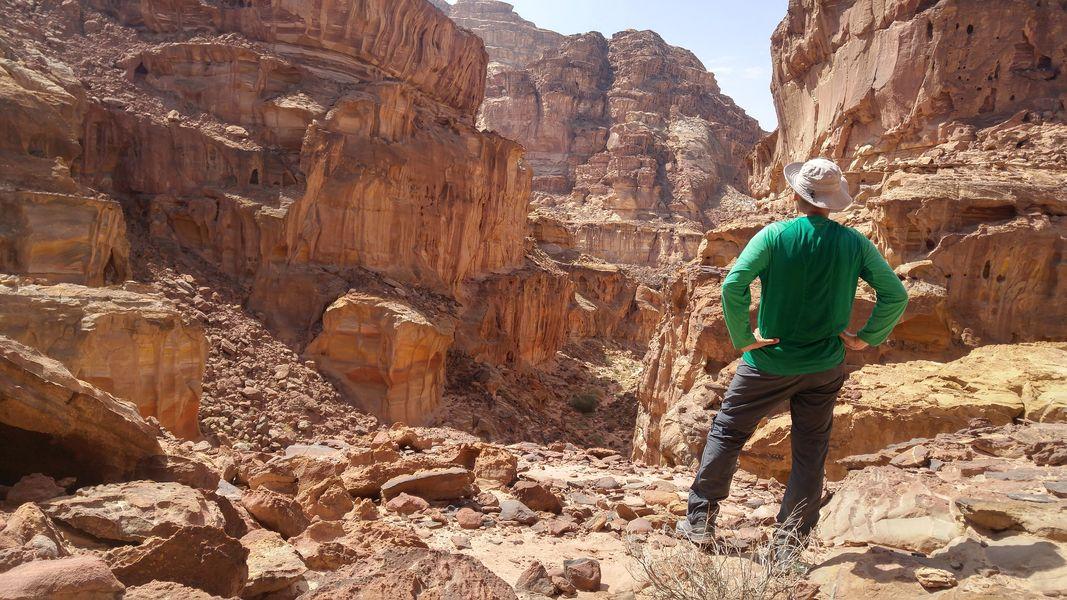 Wadi Al Saif, Szlak Jordański, Jordan Trail