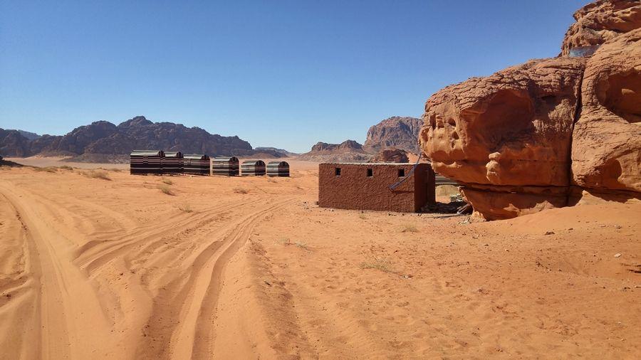camp beduiński, nocleg, Wadi Rum Jordania