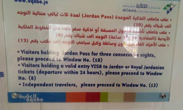 przekraczanie granicy jordańskiej, wiza Jordania
