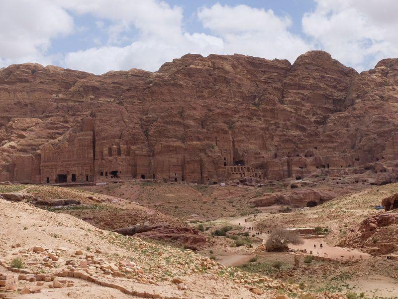 Petra w Jordanii, grobowce