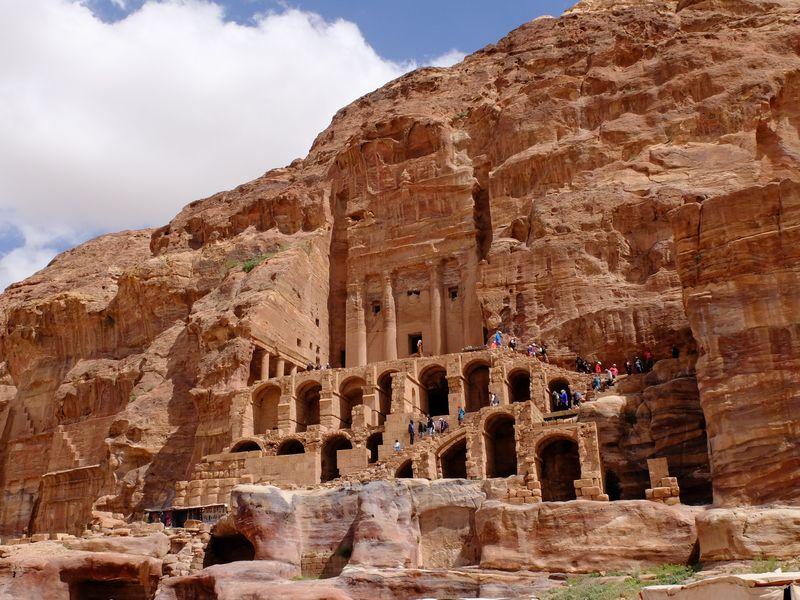 Petra, zabytki UNESCO, grobowce