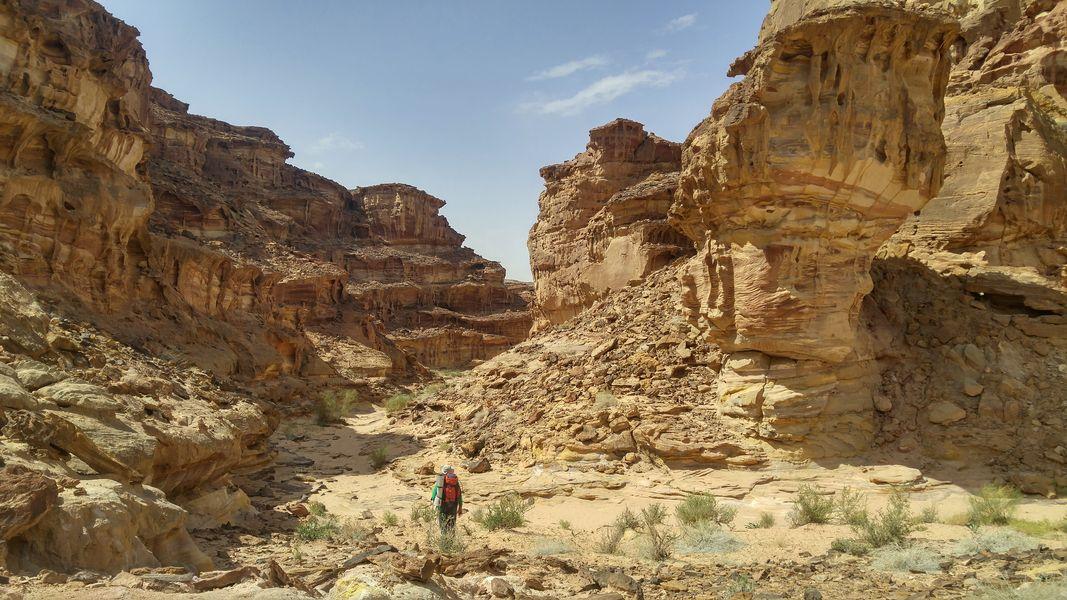 kolorowe piaskowce, Jordania