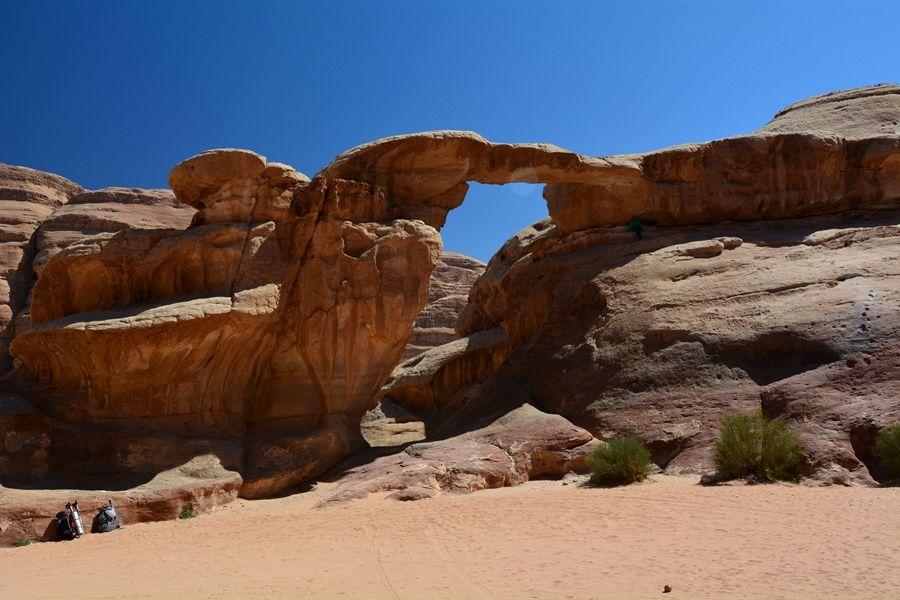 Wadi Rum, naturalne formacje skalne