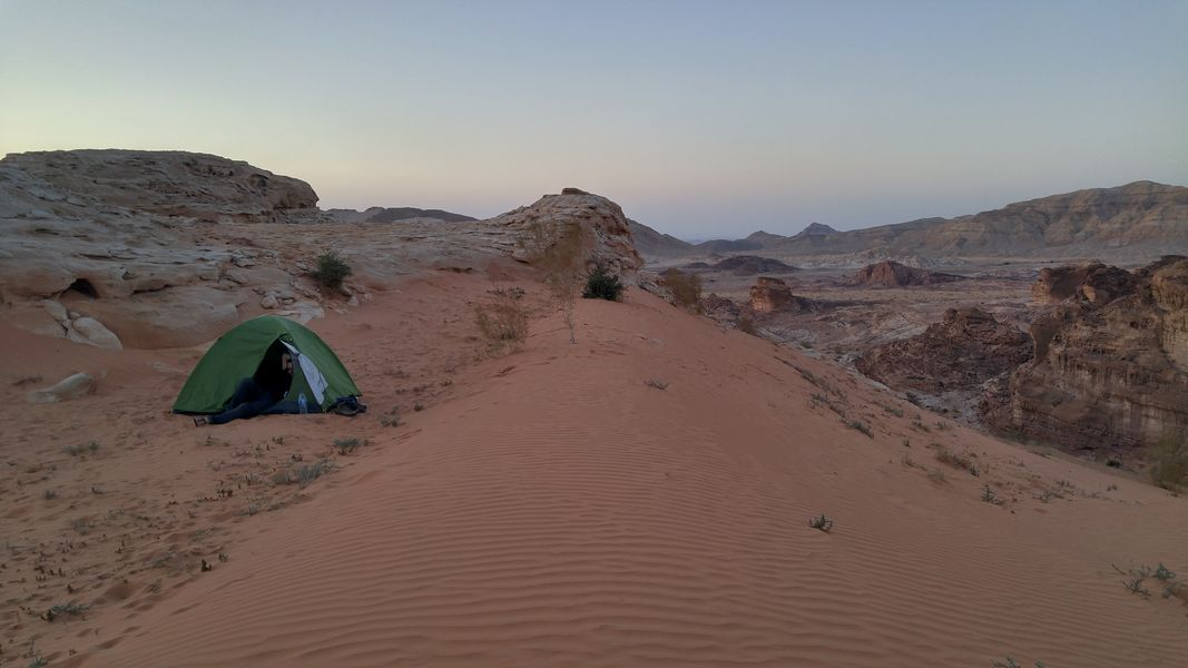 czerwona wydma, Wadi Rakiya, Jordania