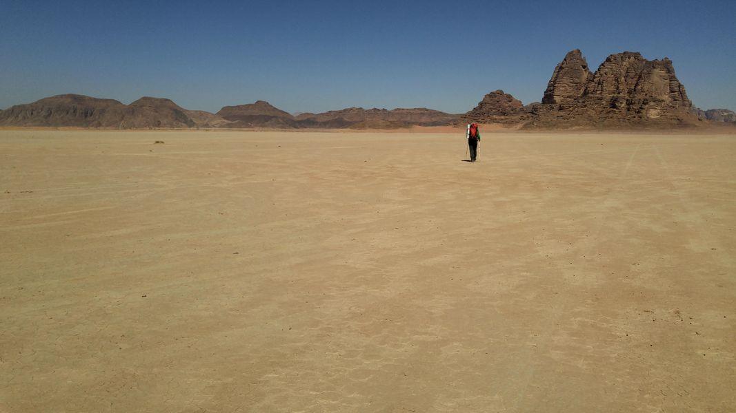 Wadi Ahmier – jeszcze ładniej niż w Wadi Rum