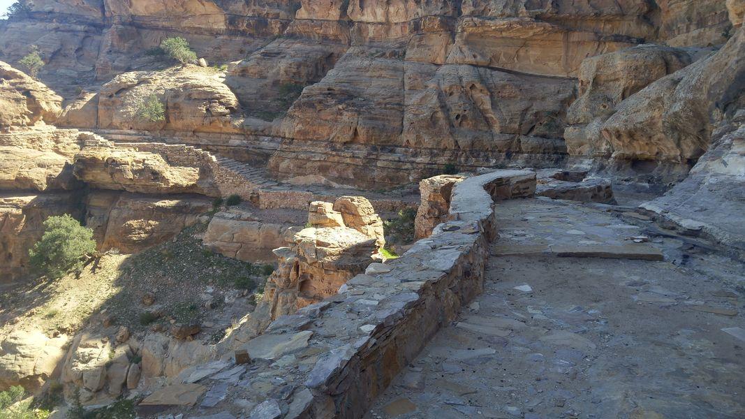 Petra - Mała Petra szlak pieszy