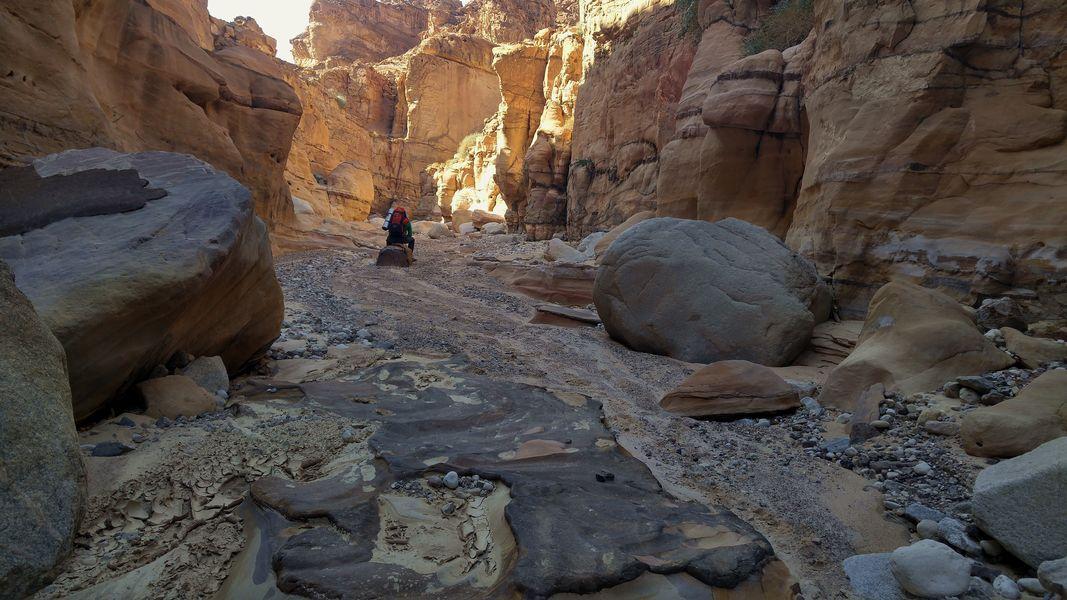 Wadi Ahmier, Jordania, najpiękniejszy kanion