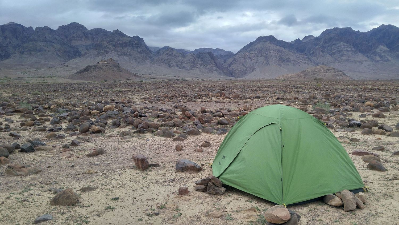 Szlak Jordański, Wadi Araba