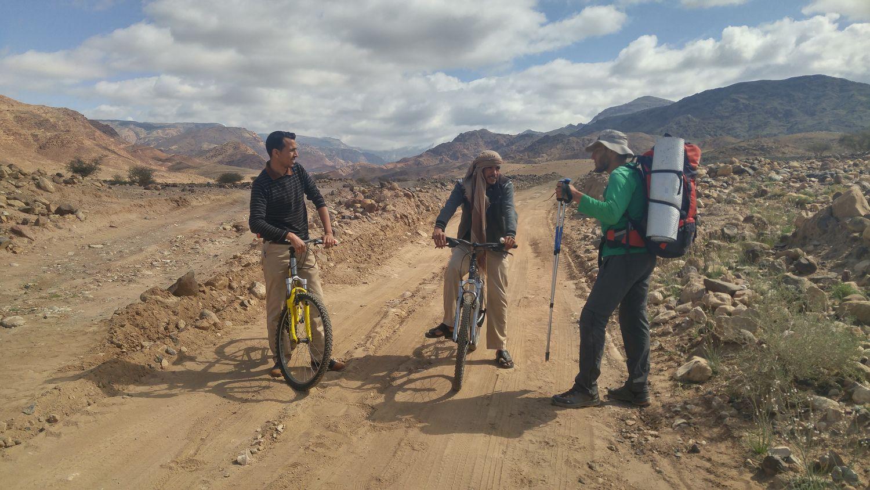 Beduini, rezerwat Dana