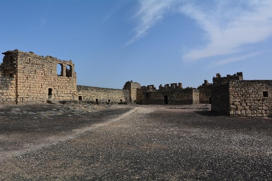 zamki pustyni Jordania