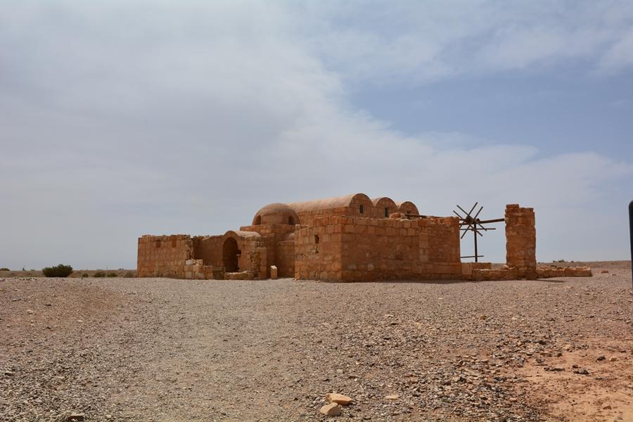 Jordania zamki pustynne Amra