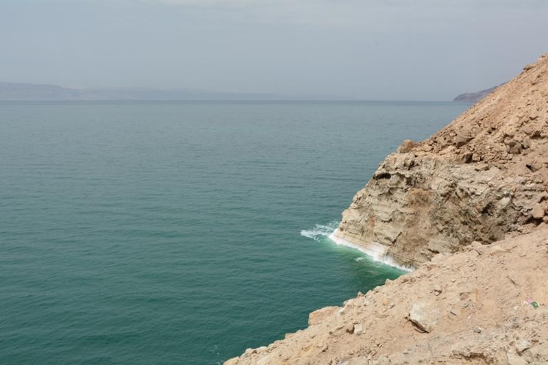 kanioning w Wadi Mujib, Morze Martwe, Jordania