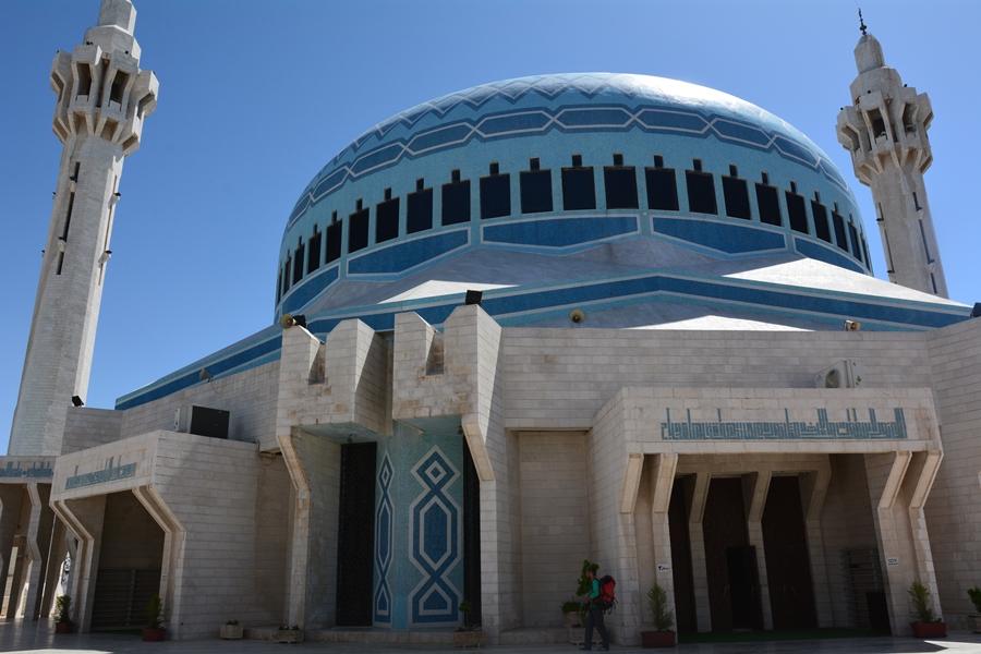 Błękitny meczet, Amman, Jordania