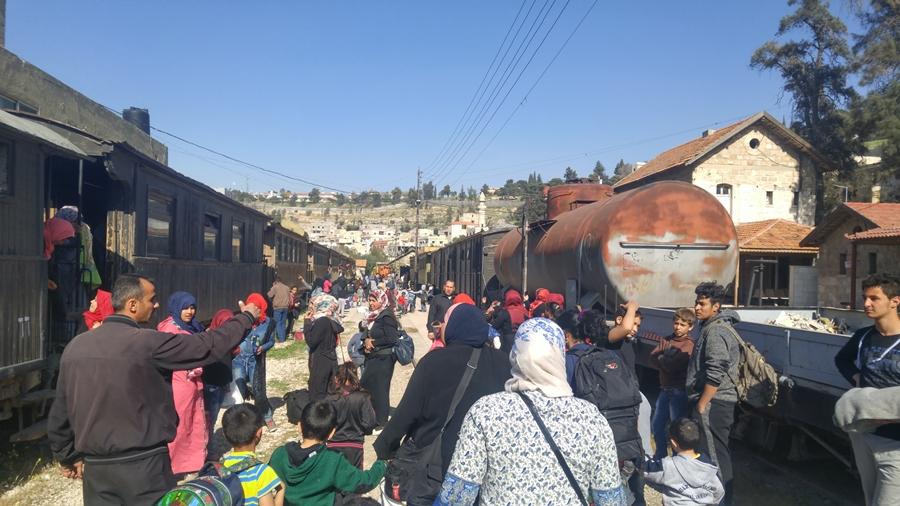 atrakcje Ammanu, kolej hidżaska