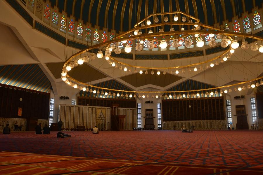 Meczet Króla Abdullaha, Amman, Jordania, atrakcje