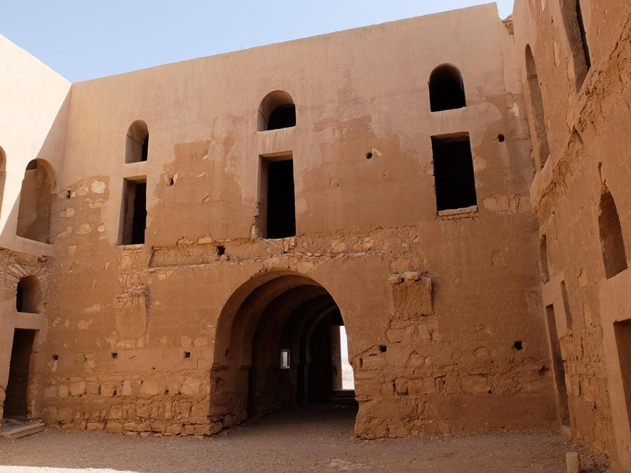 zamki pustyni Jordania Harrana