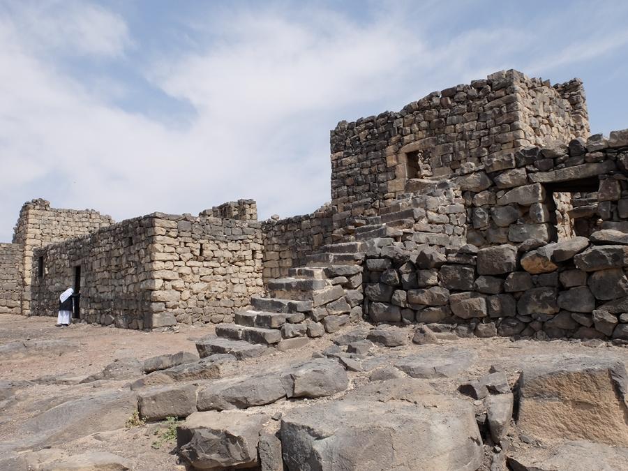 zamki pustyni Jordania Al-Azrak