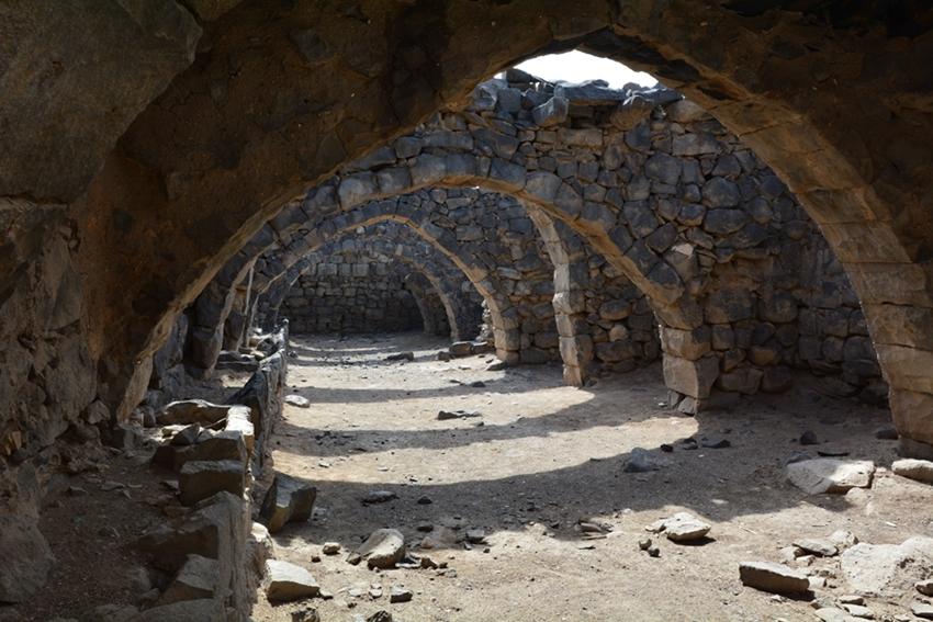 Jordania zamki Al-Azrak