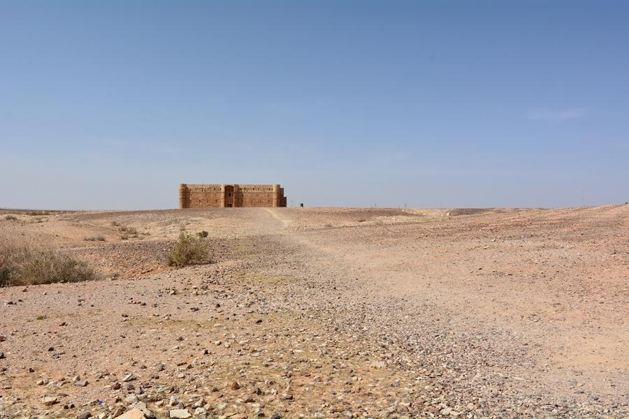 zamki pustynne Jordania Harrana