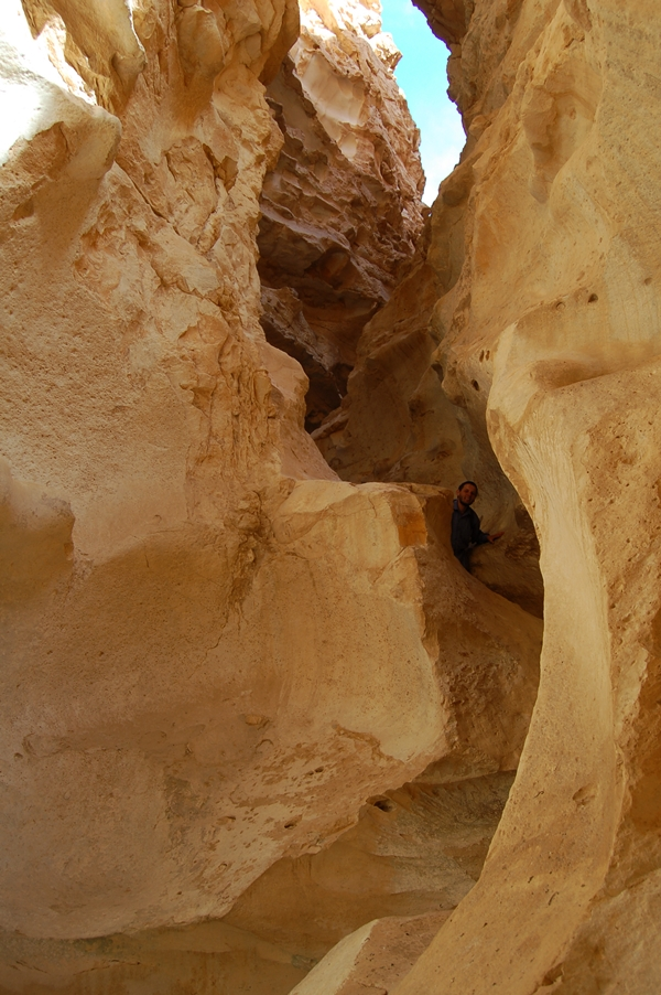 kaniony na pustyni Negew, trekking, Izrael