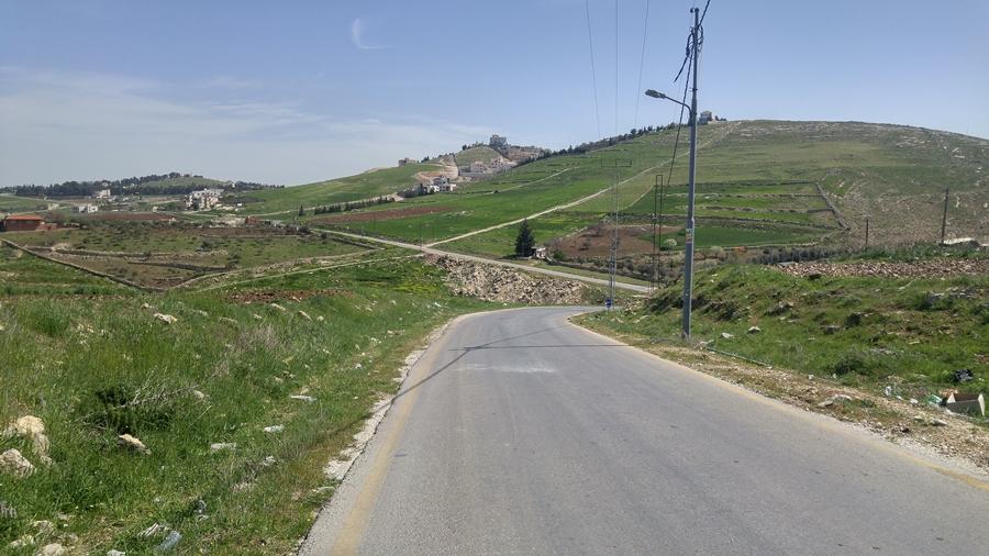 autostop w Jordanii