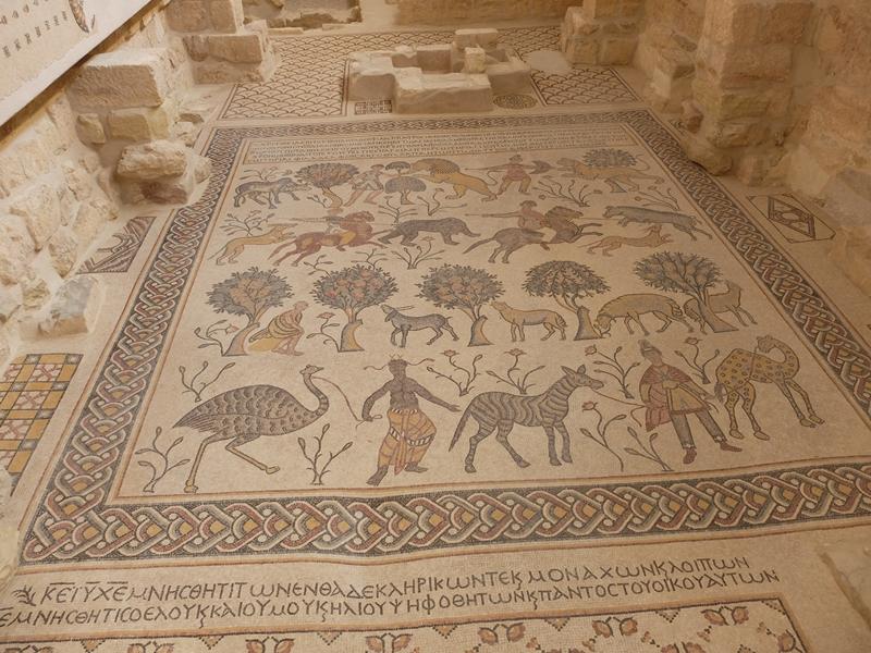 Jordania, Góra Nebo, mozaiki