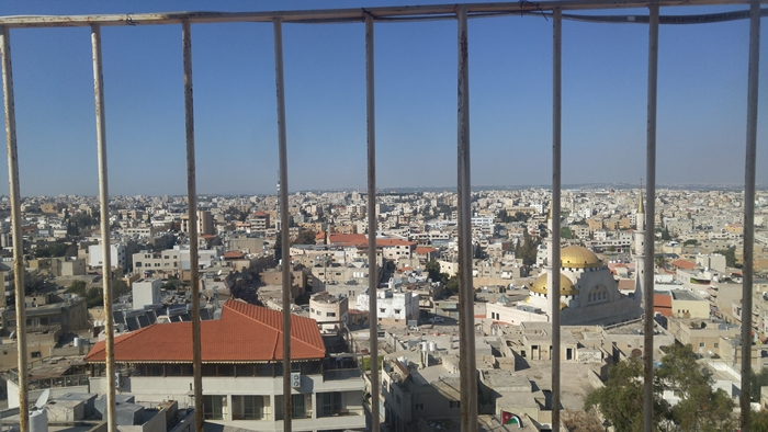 Kościół Jana Chrzciciela, Madaba, widok z wieży