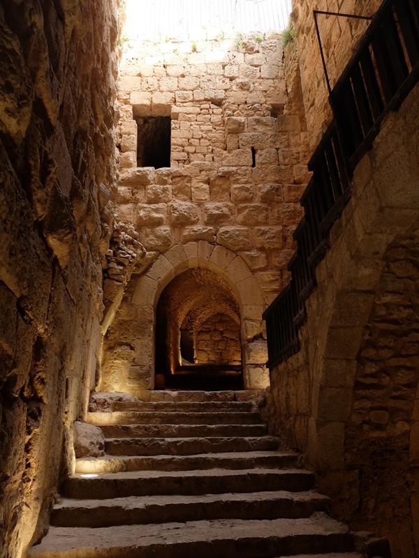 Adżlun zamek w Jordanii