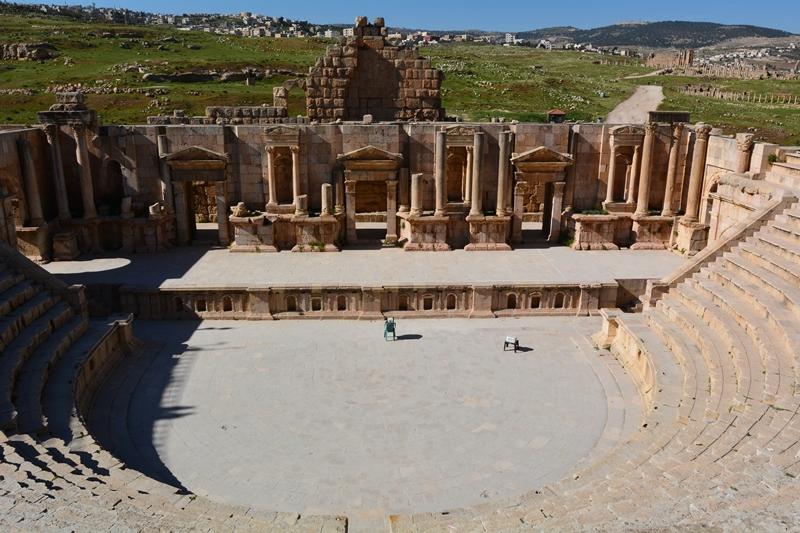 amfiteatr w Dżarasz Jordania