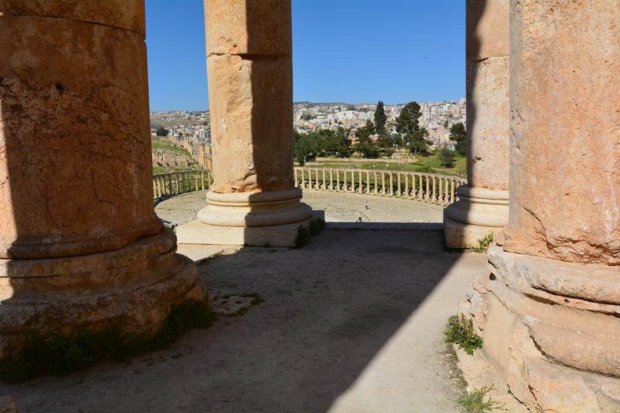 Geraza, Dżarasz, Jordania
