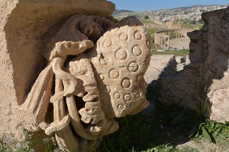 zdobnictwo rzymskie, Geraza, Jordania