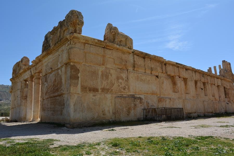 Iraq al Amir, ruiny, pałac