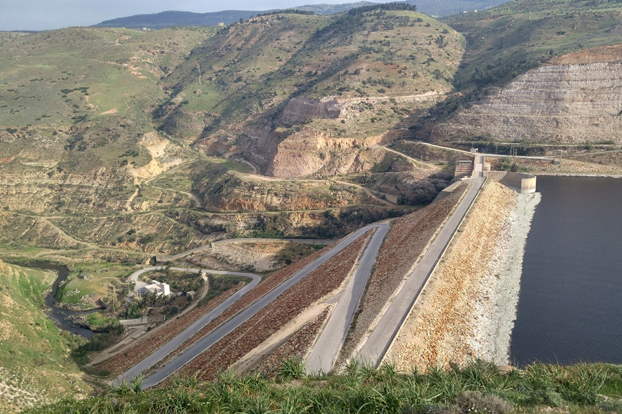 King Talal Dam, Jordania