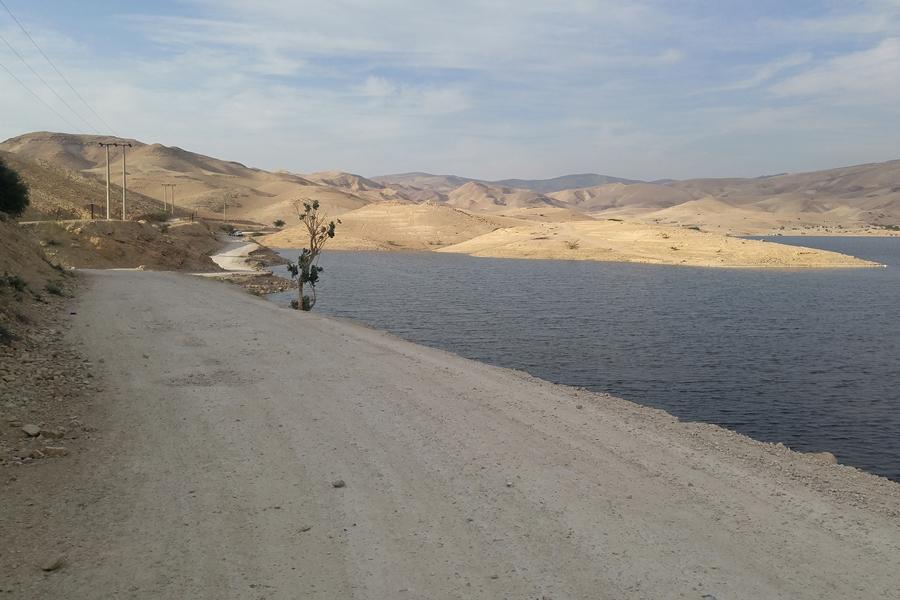 Kufrain Dam, Szlak Jordański, Jordania
