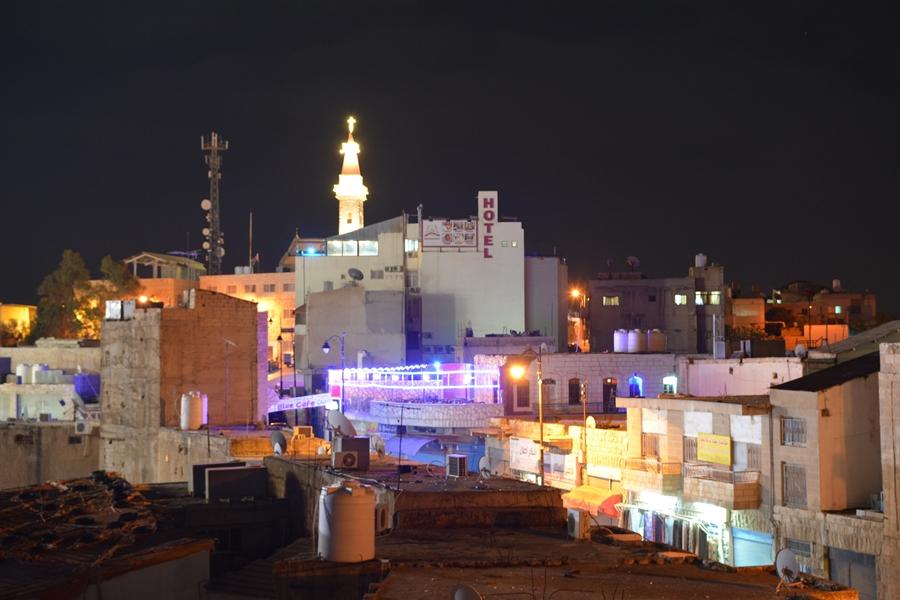 Madaba nocą, Jordania