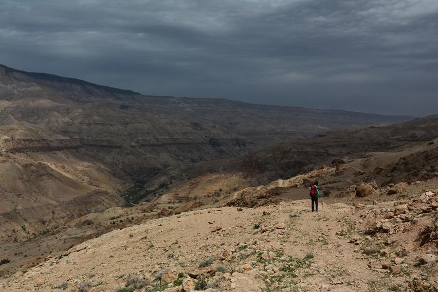 Wadi Mujib, Jordania,
