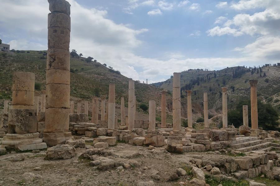 Pella, ruiny, Jordania