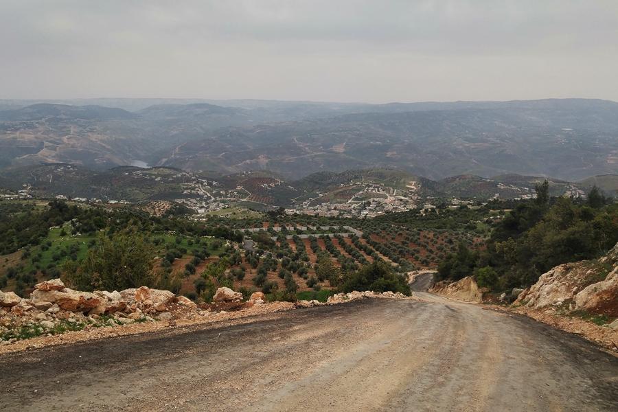 Szlak Jordański Jordania Pn