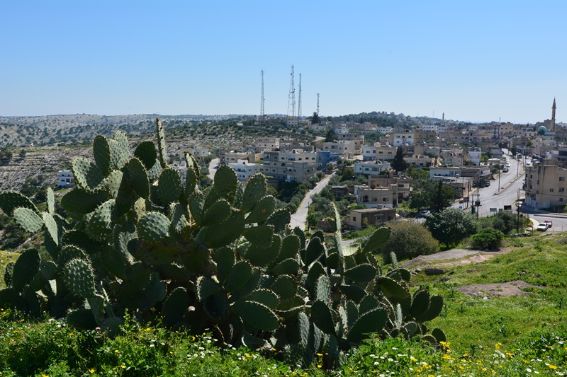 współczesne Umm Qais, Jordania, północ