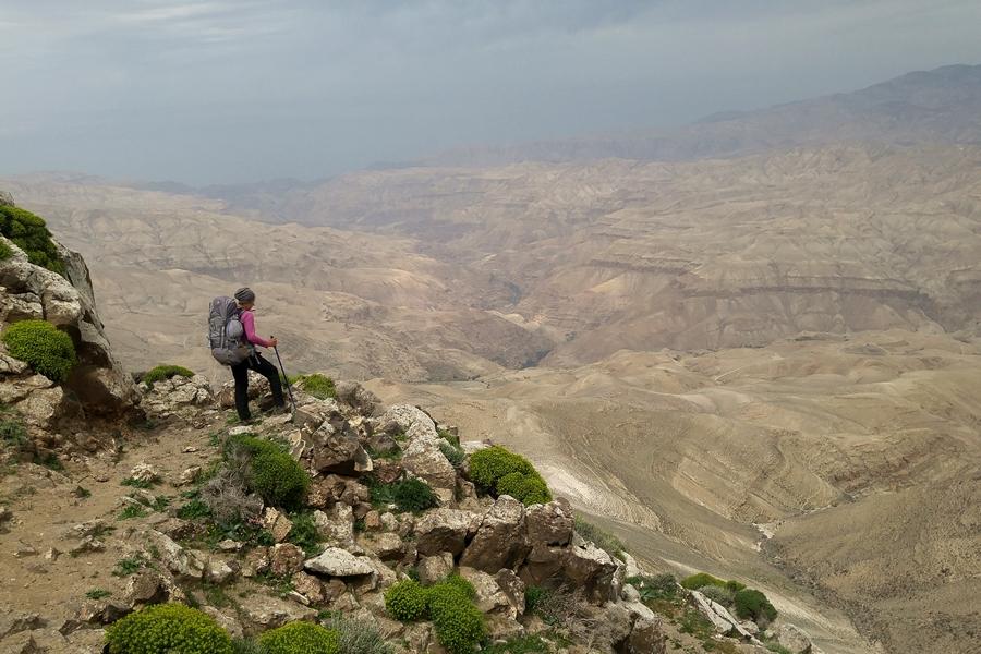 Wadi Mujib, Jordania, widok