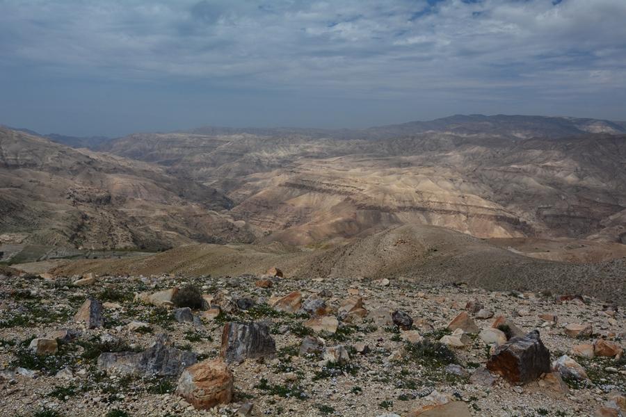 Wadi Mujib, Jordania, trekking
