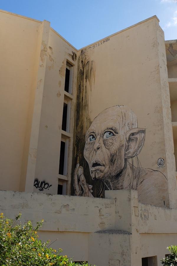street art, Malta