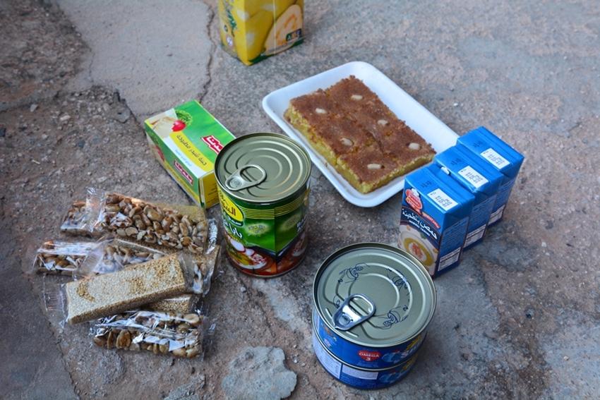 jedzenie w Jordanii, produkty, ceny