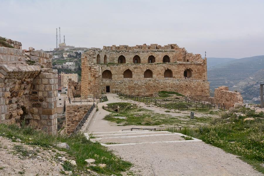 zamek Al - Karak, Jordania
