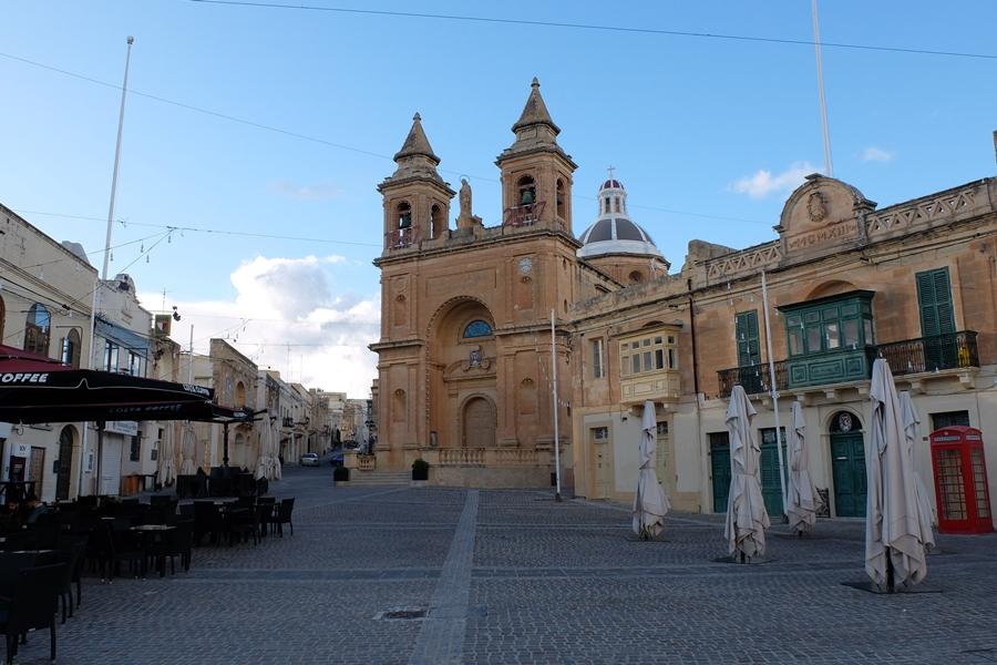 kościół w Marsaxlokk, wyspa Malta