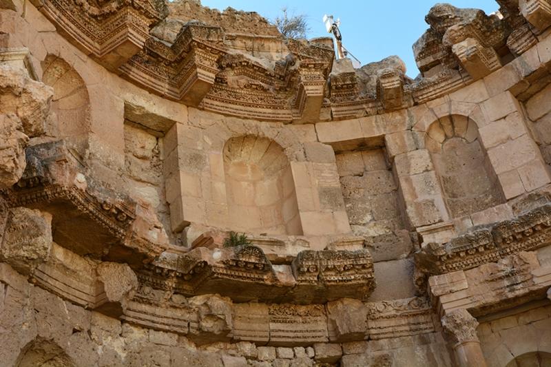 nimfeum, Dżarasz, Jordania