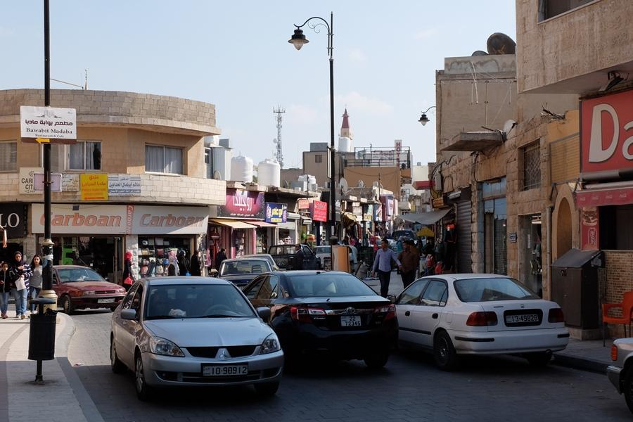 transport w Jordanii, uliczny tłok