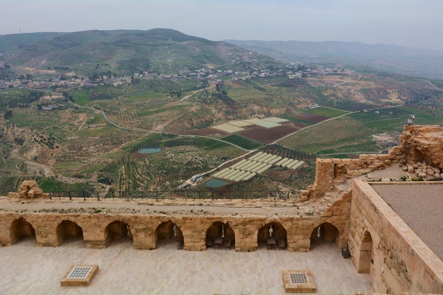 zamek Al - Karak, Jordania, Szlak Jordańki