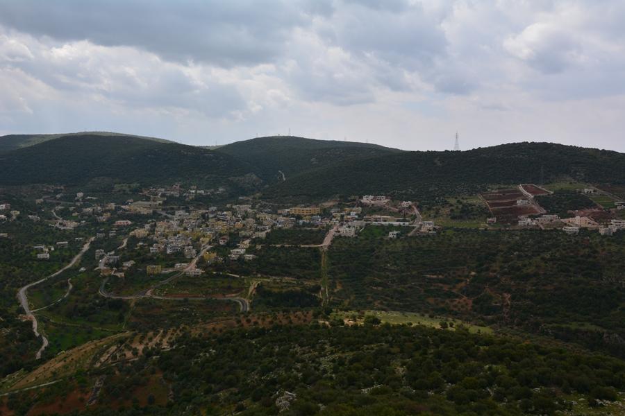 widok ze Wzgórza Eliasza